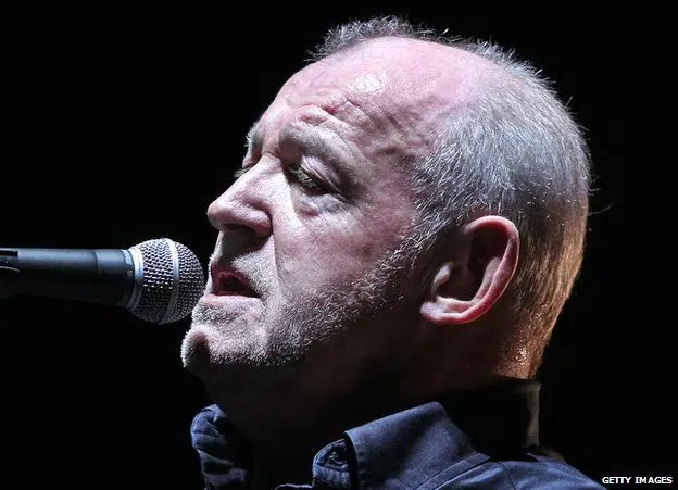 Singer Joe Cocker