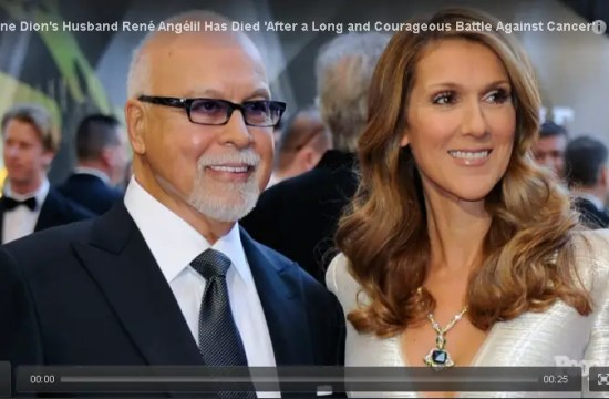 Céline Dion's Husband René Angélil Has Died 'After a Long and Courageous Battle Against Cancer' 13