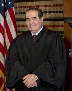 Associate Supreme Court Justice Antonin Scalia