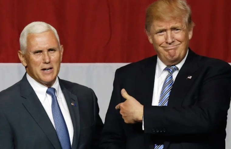 Doing All Actual Work Part Of The Deal For Trump's VP 1