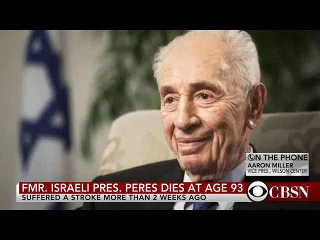 Legacy of former Israeli President Shimon Peres 1