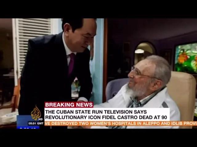 Fidel Castro Dies at age 90  Cuba Fidel Castro is DEAD 1