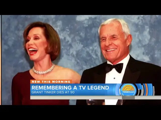 Grant Tinker former CEO of NBC dies at age 90 1