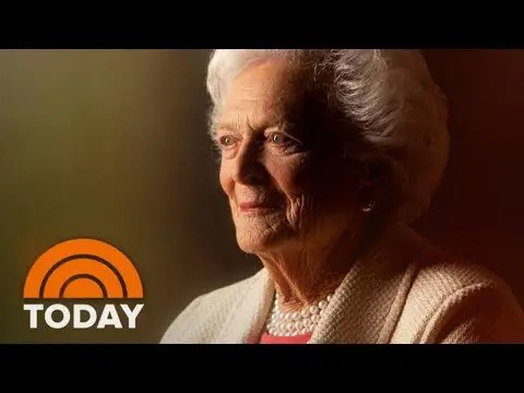 Former First Lady Barbara Bush Has Died At Age 92; Tributes Pour In | TODAY 1