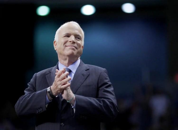 John McCain, prisoner of war, presidential candidate