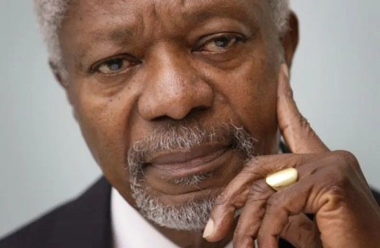 United Nations Former secretary-general Kofi Annan died today at 80. 19