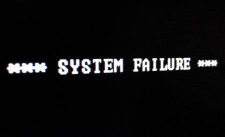 system-failure