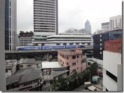 BTS Skytrain at Bangkok