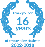 Thank you for 16 years of empowering students