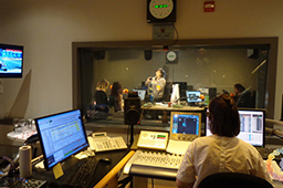 CBC's Francophone radio show, hosted by Marjorie April