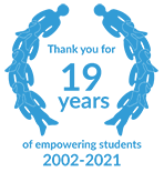 Thank you for 19 years of empowering students