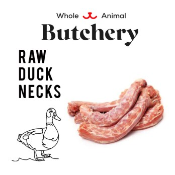 Raw Duck Neck