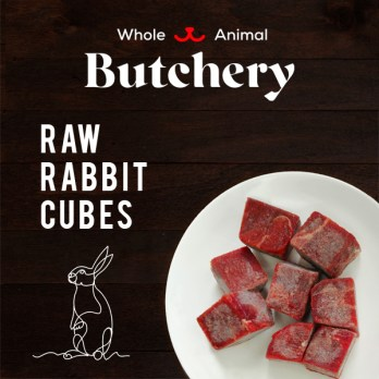 Rabbit Cubes (Boneless)
