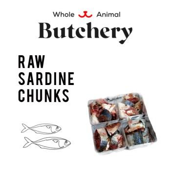 Wild-caught Sardine Chunks