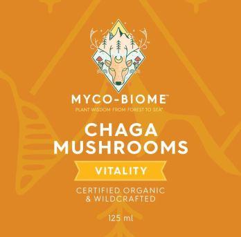 Adored Beast Chaga Mushrooms Triple Extract
