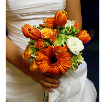 Wedding Flowers Orange Flowers For A Wedding