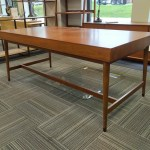 West Elm Mid Century Modern Desk 36 X72 Office Furniture Chicago New Used Refurbished