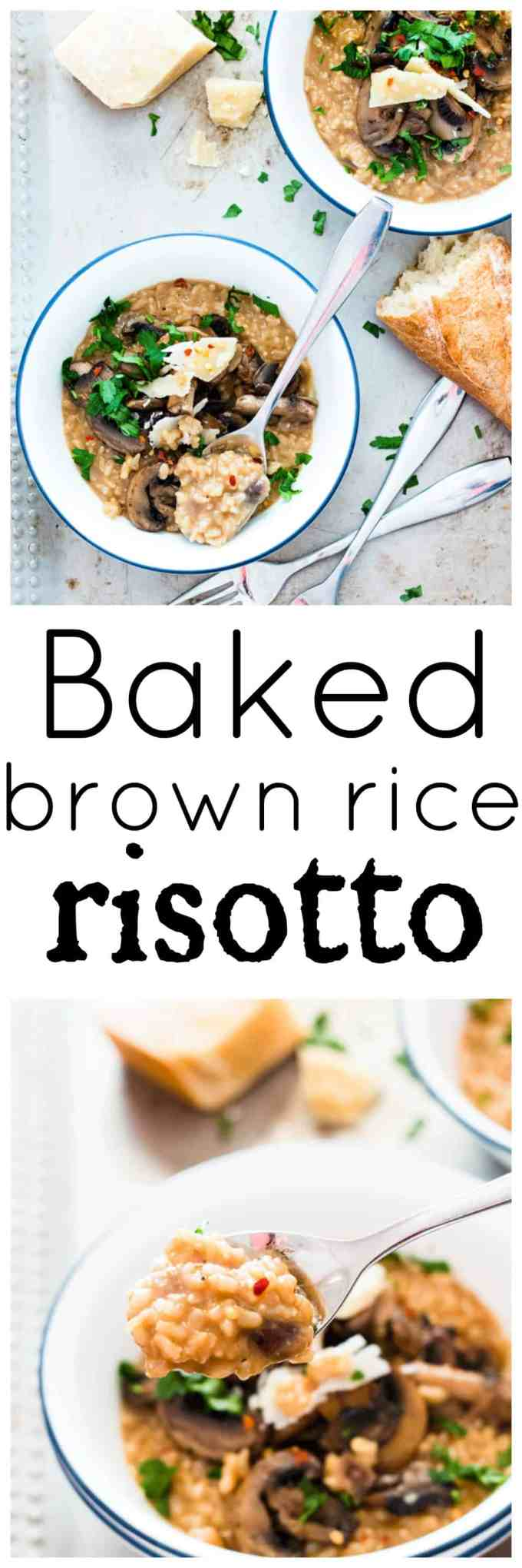 how to make risotto with brown rice