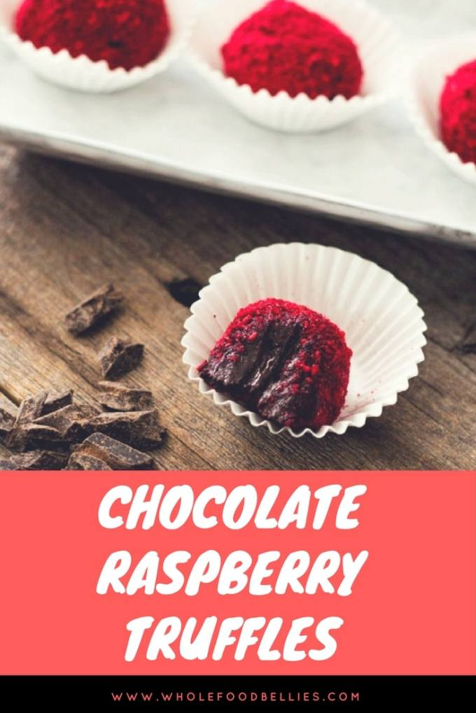 Wow your loved ones with these Chocolate Raspberry Truffles with a Healthy Twist.