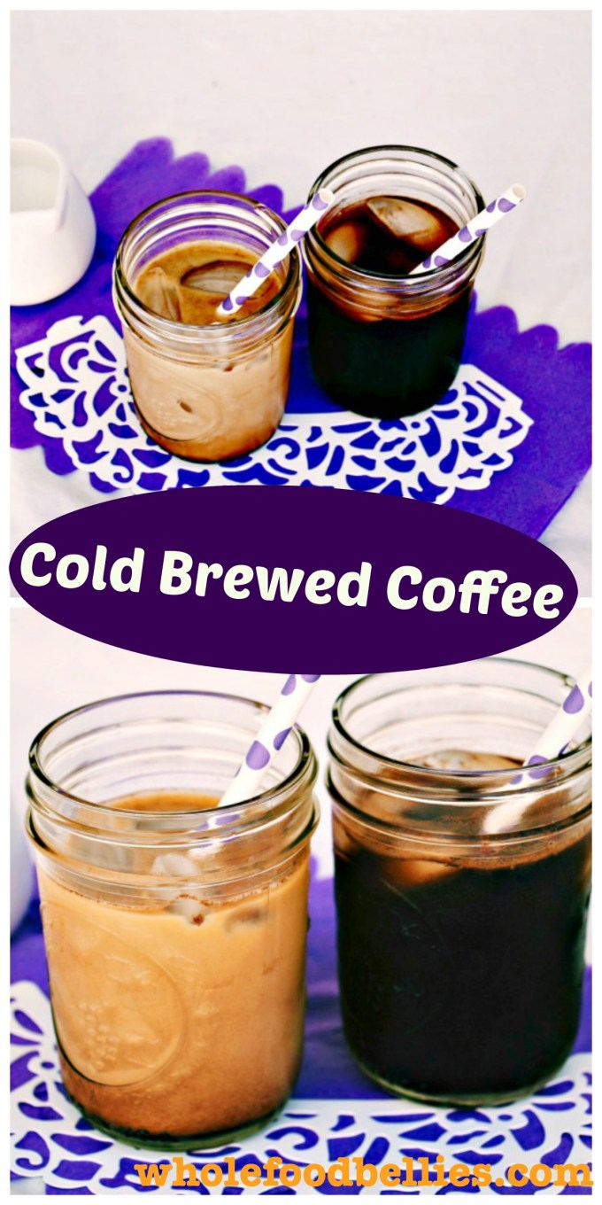 Avoid all the nasties in the store-bought versions and discover how to make cold brewed coffee at home for that perfect iced coffee fix on a hot day.