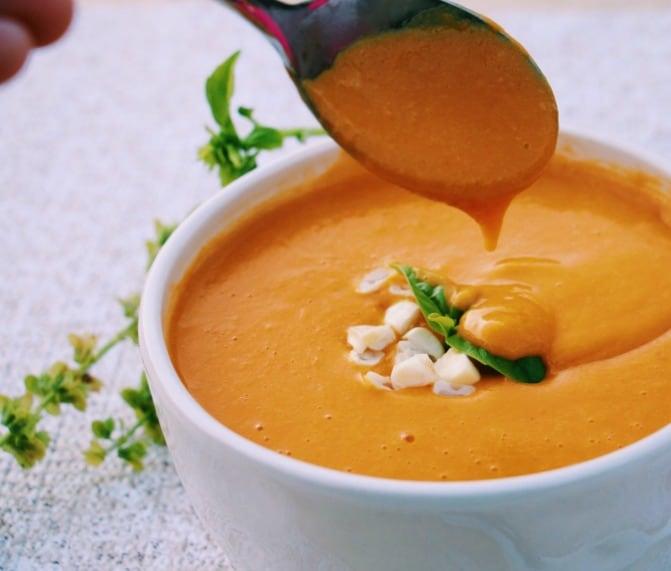 Sweet Potato and Corn Chowder