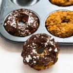 Baked Chia Pumpkin Pie Donut