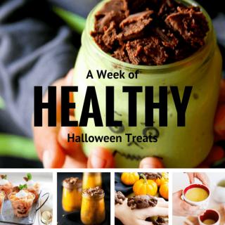 healthy treats for halloween