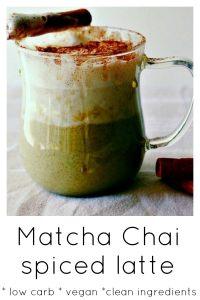 Green Tea Chai Latte