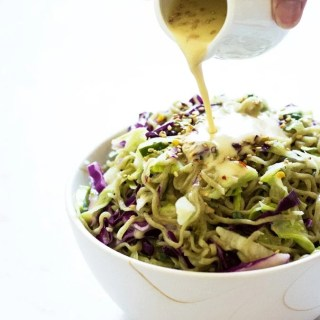 Toasted Sesame and Miso Noodle Salad
