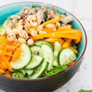 Vietnamese Pork and Riced Broccoli Bowls