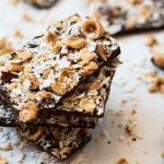 Homemade Hazelnut and Dark Chocolate Bark Thins