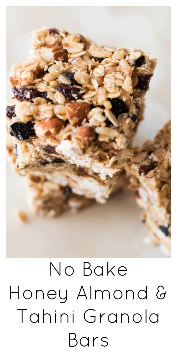 Replace store-bought granola bars often packed with processed sugars and fats with these sweet, gooey, nutty no-bake granola bars full of all good things.