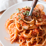 Vegan Tomato Cream Sauce with Pasta