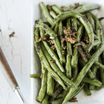 Garlic Pepper Skillet Green Beans