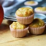 Keto Mini Apple Cinnamon Grain Free Muffins