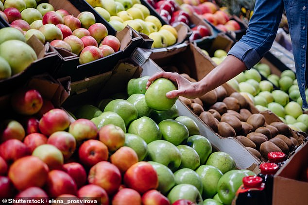 Researchers at Edith Cowan University, Australia, studied the relationship between fruit and vegetable intake and stress levels in more than 8,600 people aged 25 to 91.  Stock image