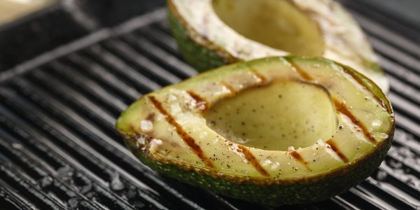 Grilled avocados from Al Roker