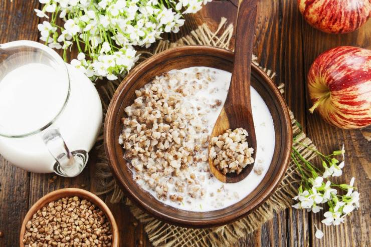 Start your day healthy with a bowl of buckwheat