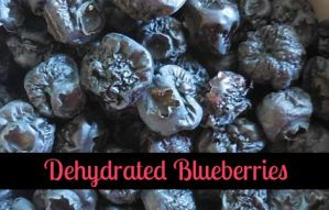 Dehydrated Blueberries Are Great Snacks
