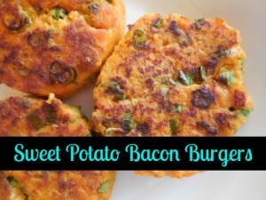 Sweet Potato Bacon Burgers: Just In Time For Fall
