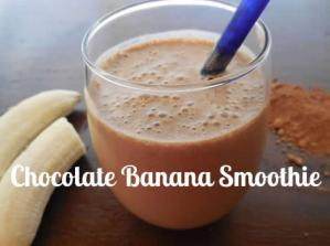 Banana Chocolate Shake Recipe ~ Paleo & Gluten-Free