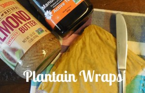 Make Gluten-Free Plantain Wraps Instead Of Tortillas
