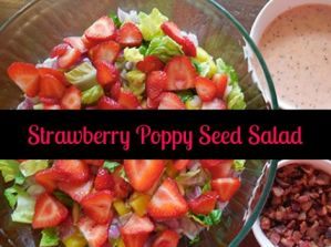 How To Make Strawberry Poppy Seed Salad