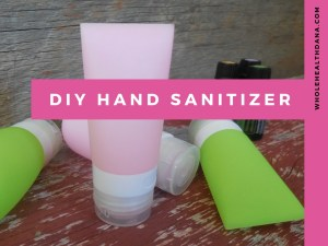 how to make hand sanitizer recipe