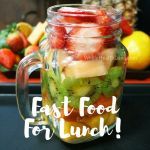 Who wants fast for for lunch today? Yum! healthyisthenewblack