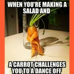 LOL! I love ugly vegetables! healthyisthenewblack