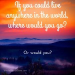 Do you already live in your own paradise or ifhellip