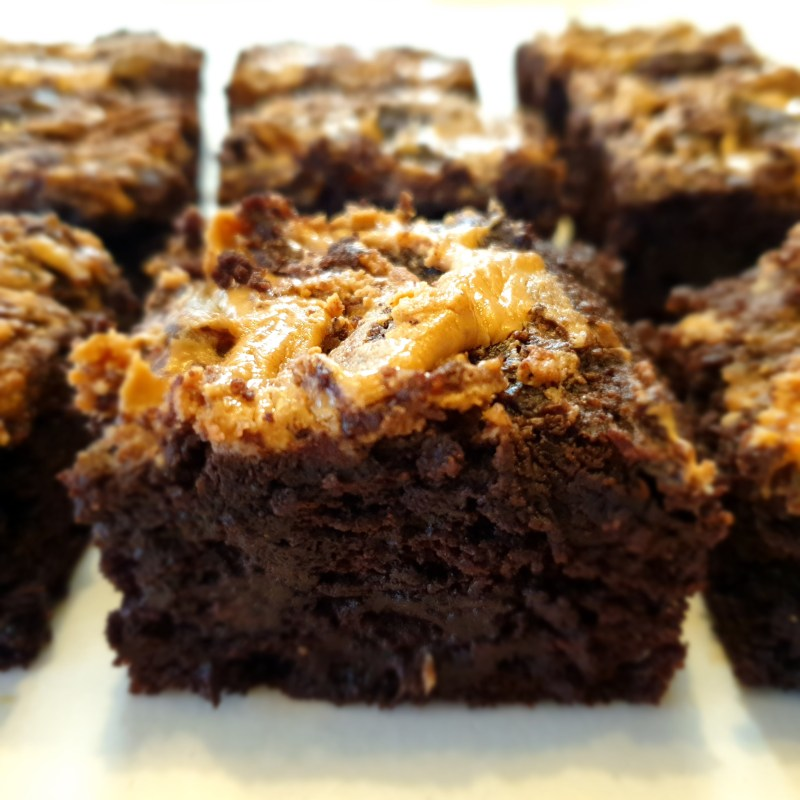 deliciously moreish chocolate brownies that are low-carb, gluten and refined sugar-free.