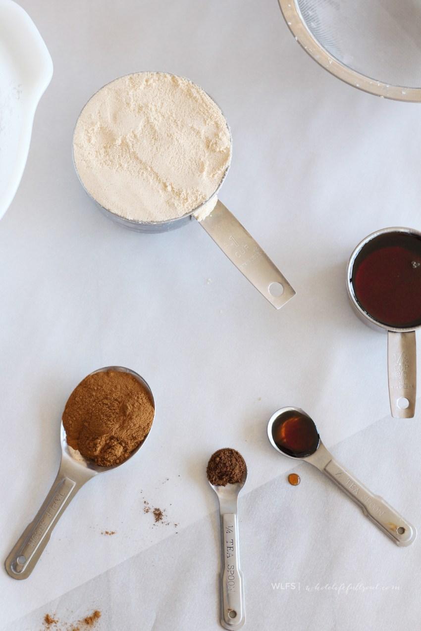 Sea Salt Caramel Blondie Brownies