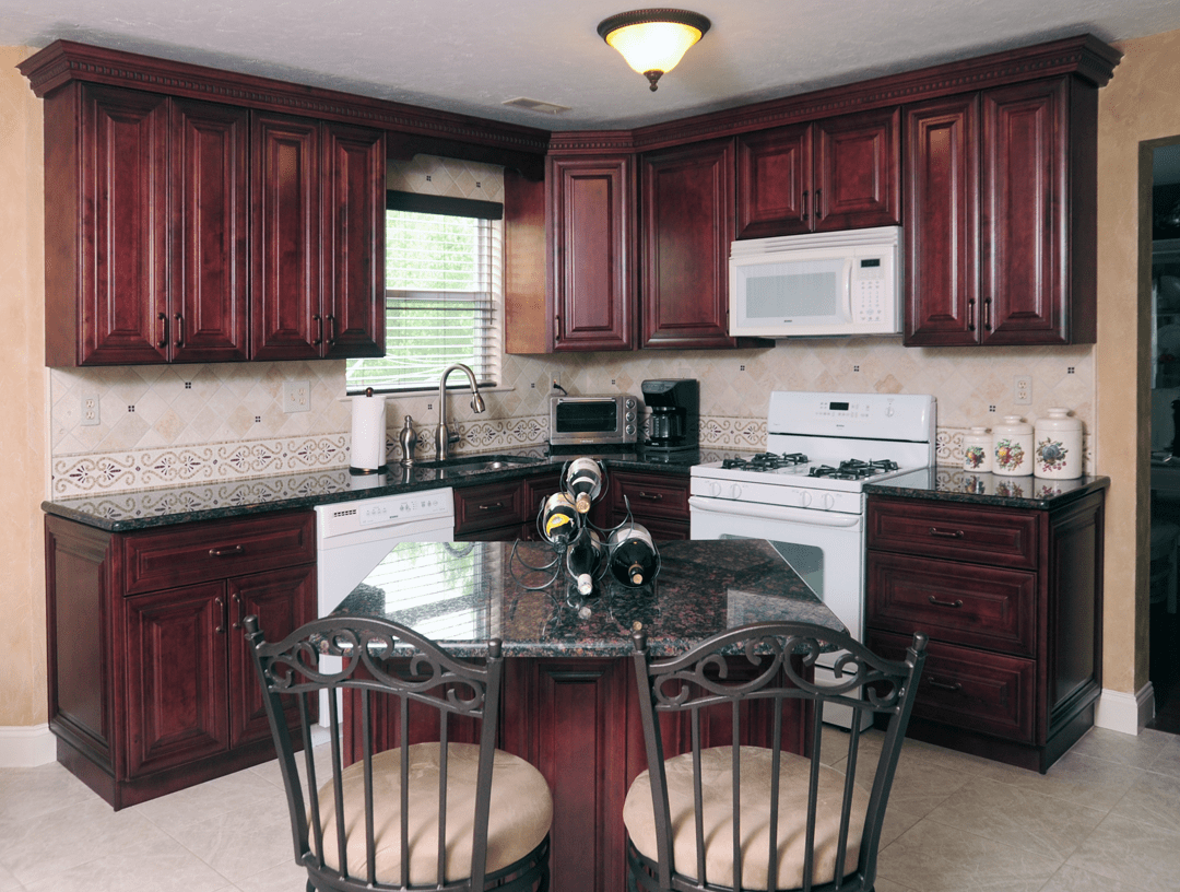 Mahogany Maple Kitchen Cabinates Photos, Pictures on Best Countertop Color For Maple Cabinets  id=56910